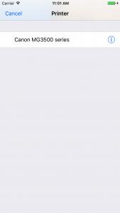 iOS Print Step 2