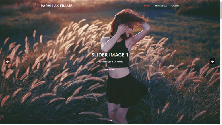 Parallax Frame